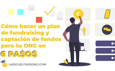 Cómo hacer un plan de fundraising en una ONG