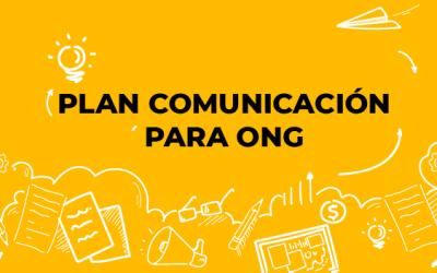 Los 3 objetivos del plan de comunicación ONG