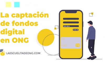 Captación de fondos digital en ONG