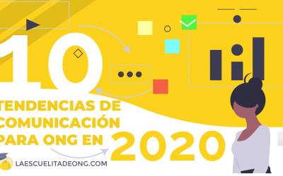 Tendencias de comunicación ONG en 2020