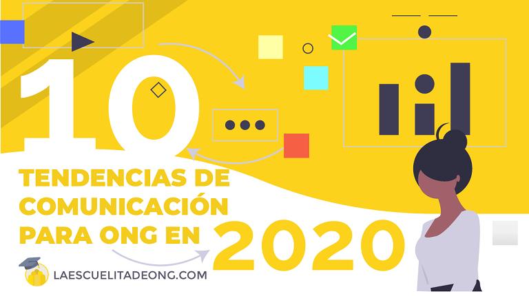 TENDENCIAS COMUNICACIÓN ONG 2020