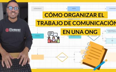 Organizar el trabajo de comunicación en ONG